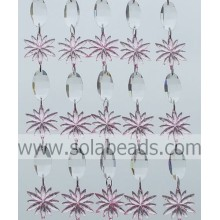 Curtain Garland 34MM&40MM Plastic Ring Beading Trimming