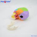 ПНТ-0159 цветные модели человеческого черепа,22 детали Размер жизни