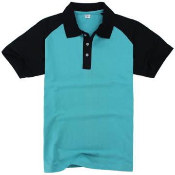 Großhandel hochwertige leere Raglan Ärmel Poloshirt