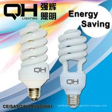 Lámpara ahorro de energía espiral CE RoHS