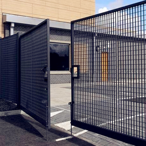 Steel Grid Door