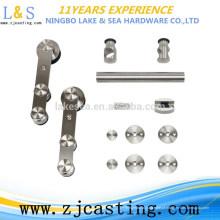 Roda da parte inferior da porta deslizante, porta Acessórios / rolo de suspensão de alta qualidade da porta deslizante