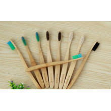 Cepillo de dientes de bambú natural ecológico