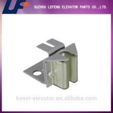 elevator weight guide shoe, lift guide shoes, elevator spare parts