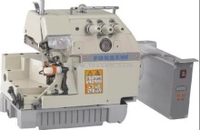 Máquina de costura de Overlock de acionamento direto para luvas de trabalho