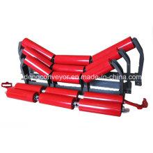 Rodillo transportador de centrado para cinta transportadora