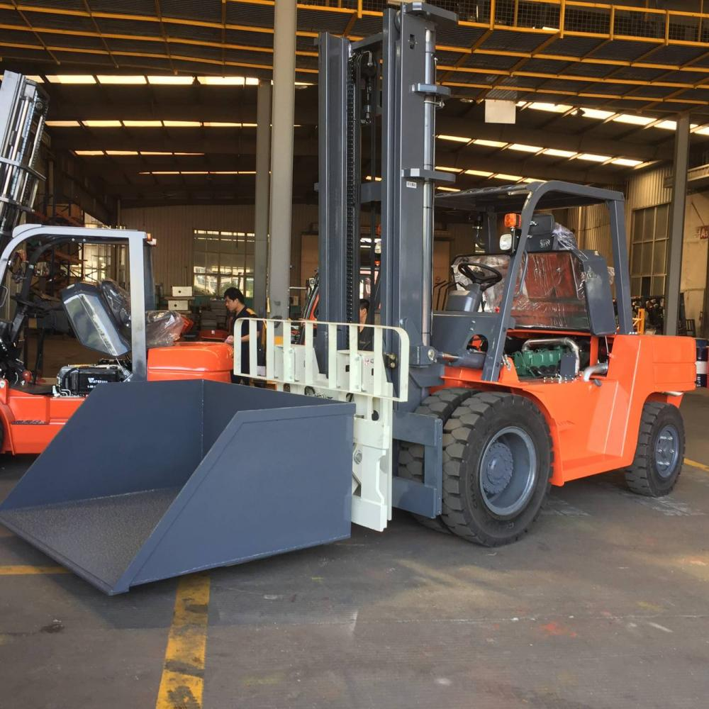 Stone Forklift With Attachment