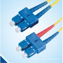 Cordon de correction Fibre Optique Sc / Upc-Sc / Upc Duplex Sm
