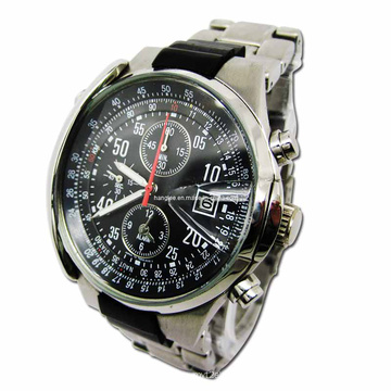 Stainless Steel Chronograph Watches Man (HAL-1276)