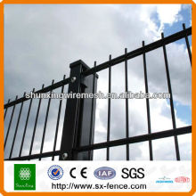 6/5/6 Powder coated Twin Wire Mesh Fence Panels