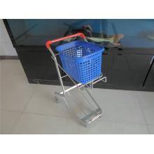 Shopping Basket Cart, Metal Basket Trolley (YRD-J5)