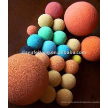 Bolas de limpeza de esponja de borracha