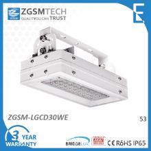 30W LED Beleuchtung Hochregallager mit 180 Grad verstellbare Halterung