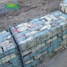 Anti-erosion welded gabion box