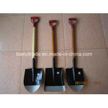 S501 Spade/Shovel with Wooden Handle