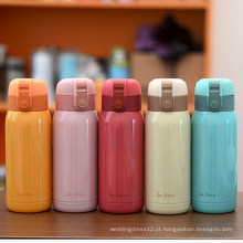 Fácil levar a garrafa térmica de aço inoxidável da parede dobro para crianças