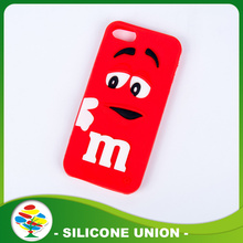 Eco-friendly New Design Red Silicone Cellphone Case