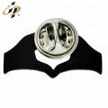 Troqueles de solapa hechos a mano con esmalte de metal negro