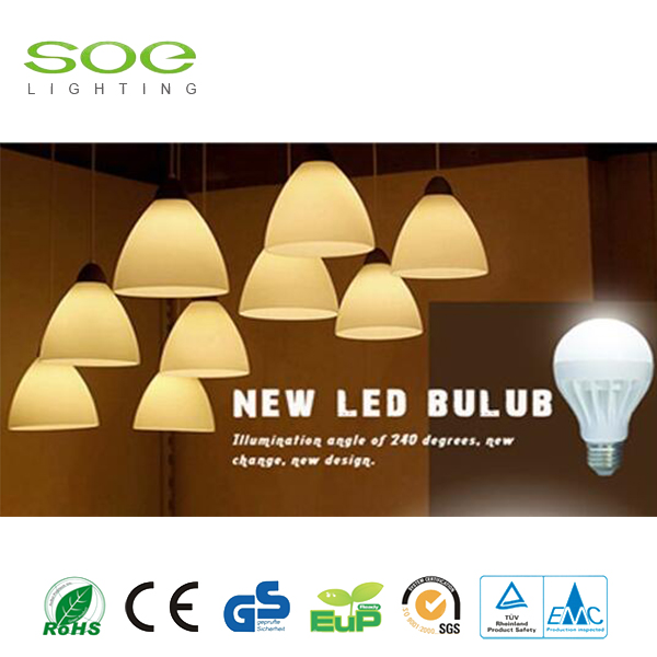 9W Aluminium Frame Inside LED Bulb Light