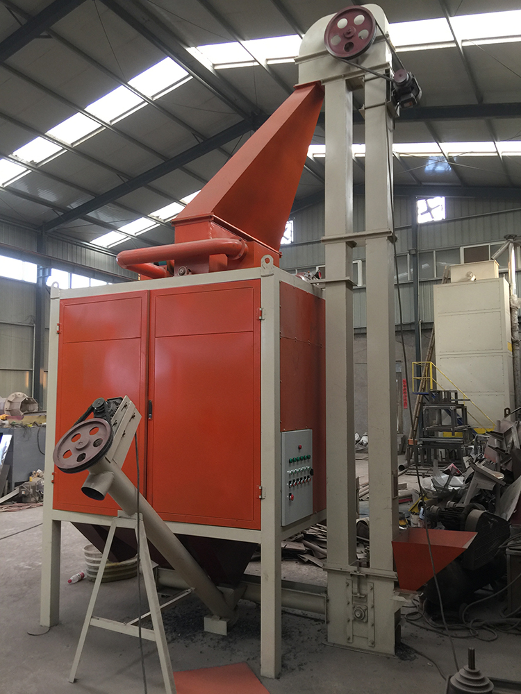rubber and plastic separator