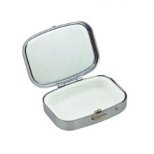 Boîte de pilule de rangement en métal (BOX-40)