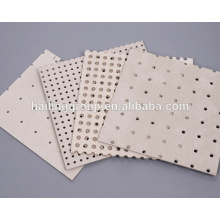 Planche de ciment perforée de plafond de catégorie A incombustible