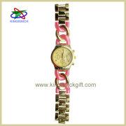 Alloy Quartz Chain Watch Bracelet, Western Fashion Alloy Watch