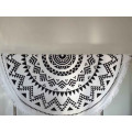 unique design cotton wall tapestry, towel with tassel