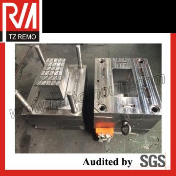 Contenedor de batería de coche y moldes de inyección de molde de tapa