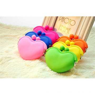 Fashion Jelly Coin Bag Silicone Purse for Lady