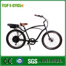 El TOP 36v 250w 26inns sirve la bici eléctrica del crucero de la playa 2017