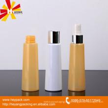 Botella de aerosol de aluminio amarillo medio transparente de 85ml
