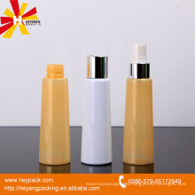 85ml half transparent yellow aluminum spray bottle