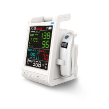 Monitor de signos vitales Monitor de paciente con pantalla táctil de transporte (SC-Cc3)