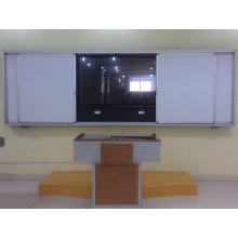 Tableau coulissant avec écran LCD