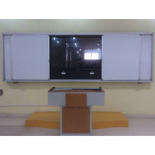 Sliding Chalkboard with Ceramic Surface
