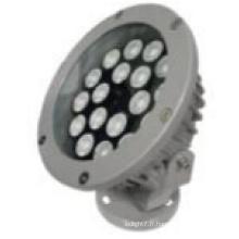 Rondelle de mur rond d'alliage d'aluminium de forme ronde de LED