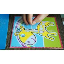 cartoon sand art for children