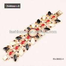 óleo de joias de moda dripping bigode pulseira FA-B003 série