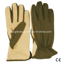 Leather Glove-Nylon Glove-Safety Glove-Garden Glove-Labor Glove