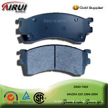 SEMI-METALLIC CAR BRAKE PAD FOR MAZDA 323 1994-2004