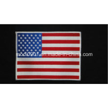 Flag Embroidery Label Cap Logo