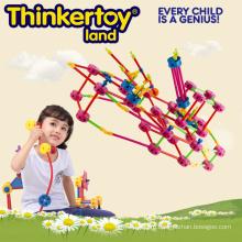 Лучшие игрушки игрушек Пластиковые образования строительных блоков игрушки