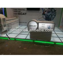 Piso de cristal del LED, piso de iluminación en Shangai en China