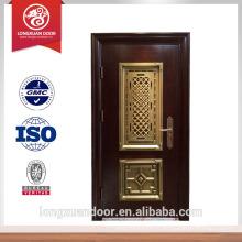 Dernière conception sécurité porte en acier mian porte d'entrée porte design en porte Choix du fournisseur