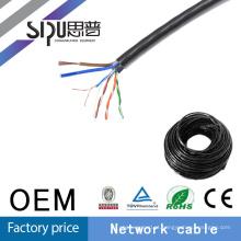 Preço de fábrica do ftp de cabo mensageiro do SIPU cat5e exterior impermeável