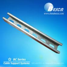 Barra de acero de canal galvanizado (UL, IEC, SGS y CE)