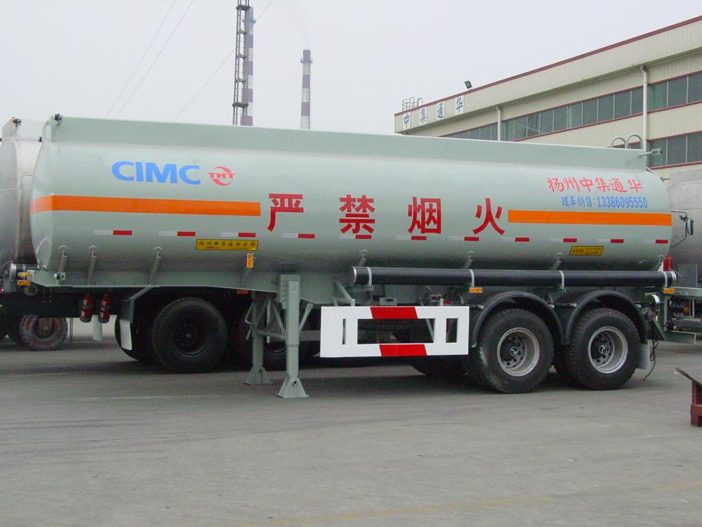 Carbon Steel Fuel Tank Semi-Trailer