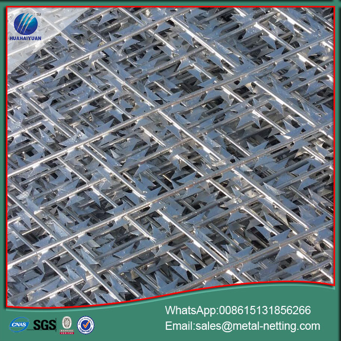 Anti Climb Welded Razor Wire