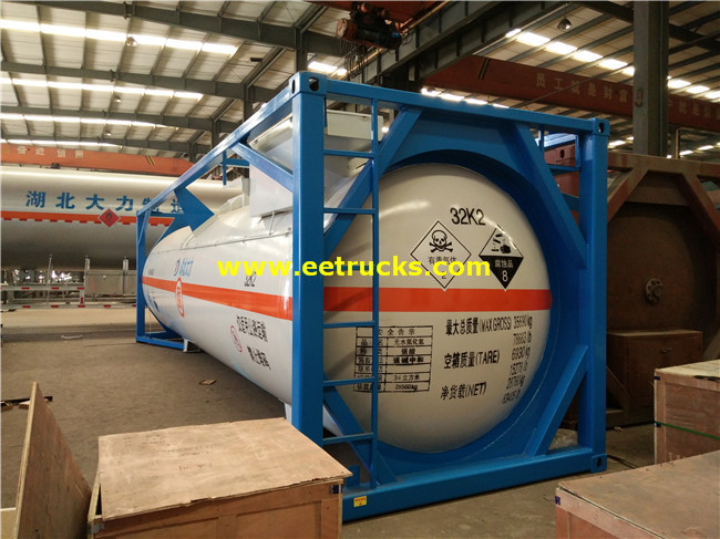 24000L 20ft HCl Tank Storage Containers